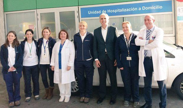 La Hospitalización a Domicilio del Infanta Leonor creció un 25% en 2017