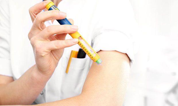 La inyección de glucosa mensual para diabéticos, en el horizonte