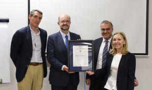 La Jiménez Díaz recibe el certificado Aenor de Sistemas de Gestión