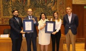 La Jiménez Díaz recibe una certificación doble en seguridad de información