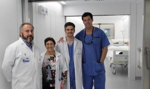 La Jiménez Díaz usa la embolización para el secuestro pulmonar de un bebé