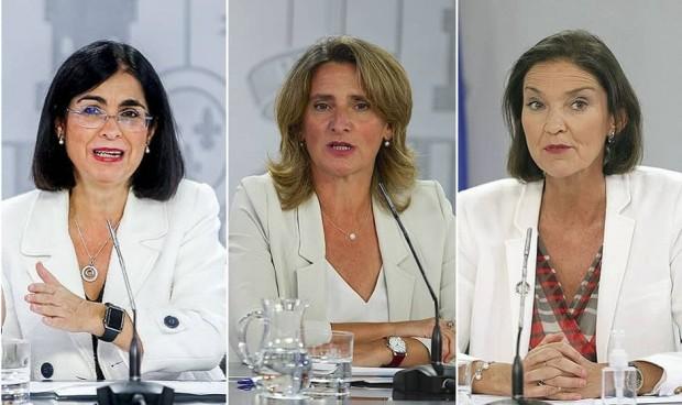 La 'llave' de los PERTE sanitarios, en manos de Darias, Ribera y Maroto