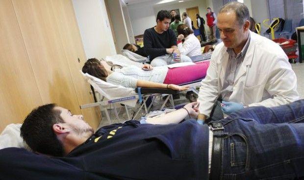La media de donantes de sangre en España es superior a la europea