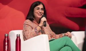 La ministra Carolina Darias, responsable de Sanidad del PSOE