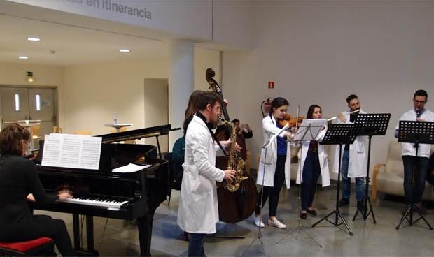 La música como nueva 'terapia' en el Hospital General de Ciudad Real