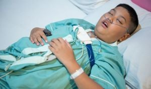 La obesidad es muy frecuente en los niños con apnea del sueño