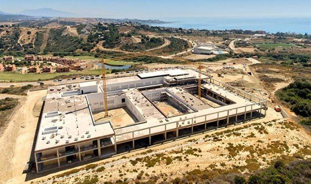 La obra del nuevo hospital de Estepona culminará en unos 100 días