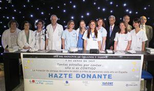 La Paz se llena de estrellas para concienciar sobre la donación de órganos