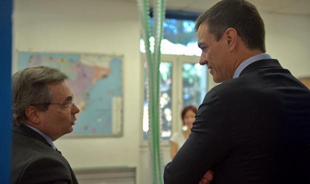 La precipitada visita de Pedro Sánchez a la ONT