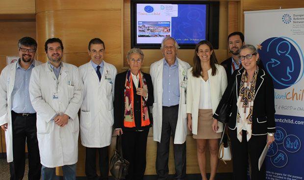 La primera reunión de la Red Europea de Trasplantes Infantiles, en La Paz