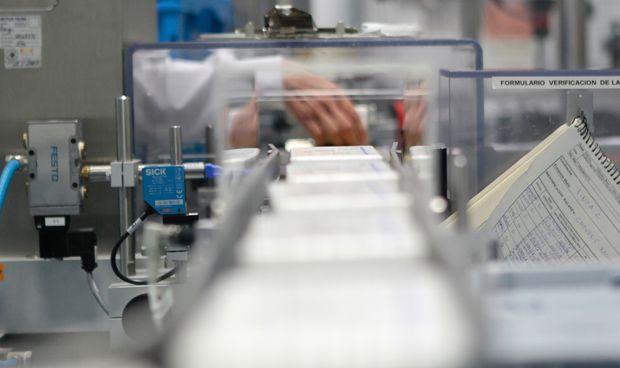 La producción de la industria farmacéutica se recupera y crece un 9%
