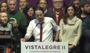 La propuesta sanitaria de Pablo Iglesias se impone en Vistalegre