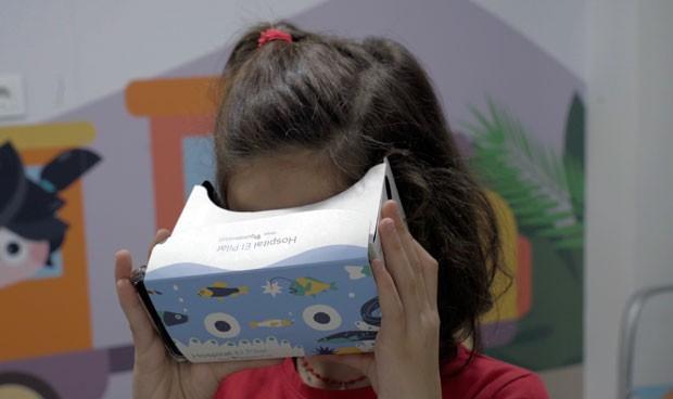La realidad virtual, un aliado contra el miedo de los niños al hospital