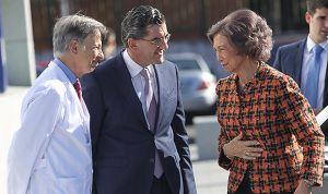 La reina Sofía abandera el liderazgo mundial de HM Cinac en párkinson