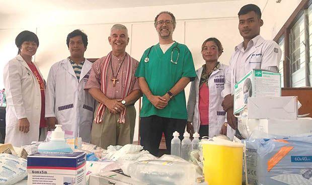 La Ribera colabora con Sauce para impulsar un centro de salud en Camboya