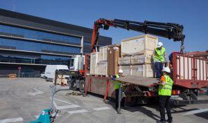 La Rioja instala el primero de sus dos nuevos aceleradores lineales