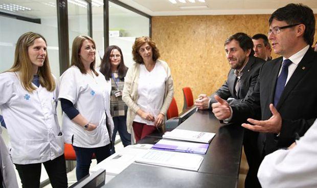 La sanidad catalana 'normaliza' las donaciones como fuente de financiación