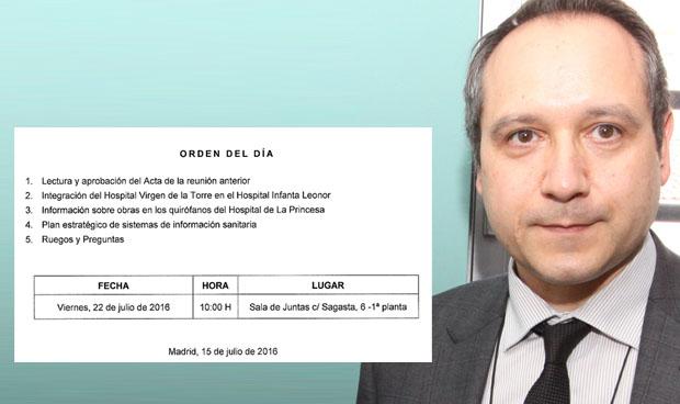 La sanidad madrileña no descansa en julio y convoca a los sindicatos