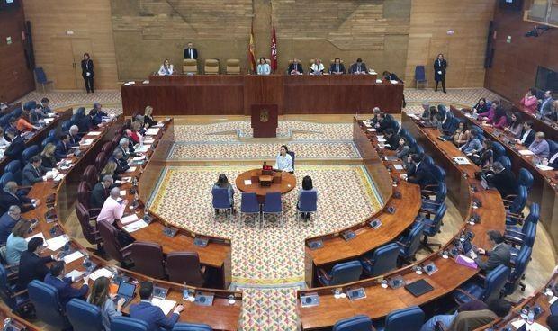 Las visiones enfrentadas de Vox y UP se citan en Madrid