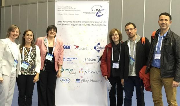 La SEFH celebra el First Pharmacist Day en el marco del congreso de la EBMT