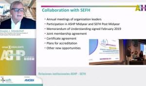 La SEFH resume lo mejor del congreso americano de Farmacia Hospitalaria
