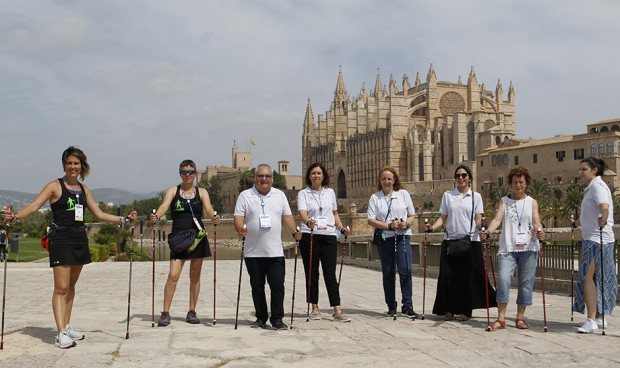 La SEMG 'marcha' por Mallorca para combatir la osteoporosis