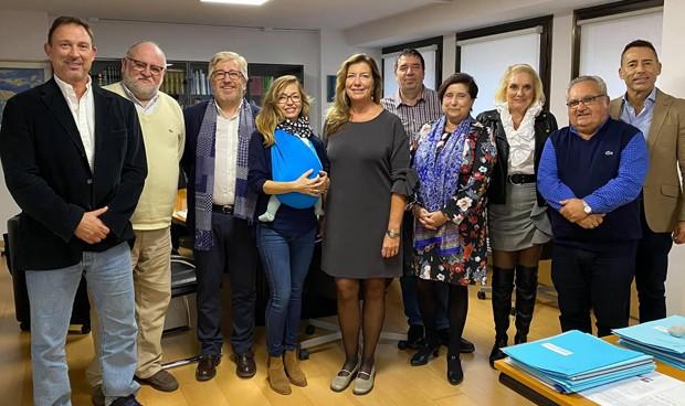 La SEMG presenta a Patricia Gómez los detalles de su congreso anual