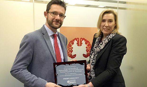 La SEN, premiada por apoyar el conocimiento en enfermedades neuromusculares