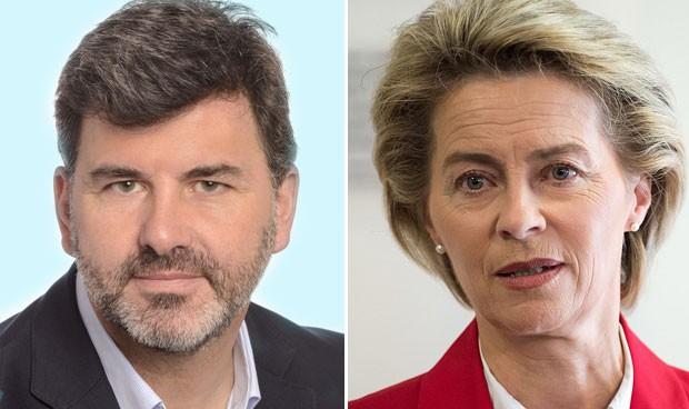 """Debate UE: piden a la médica Von der Leyen """"trabajo digno"""" para Enfermería"""