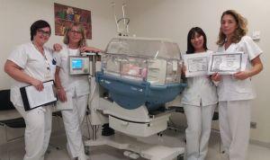 La UCI neonatal del Hospital Santa Lucía minimiza el estrés de las familias