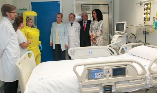 La Unidad de Aislamiento de La Paz, a la vanguardia de la sanidad madrileña