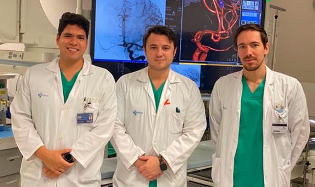 La Unidad de Neurointervencionismo de Valladolid, pionera en acceso radial