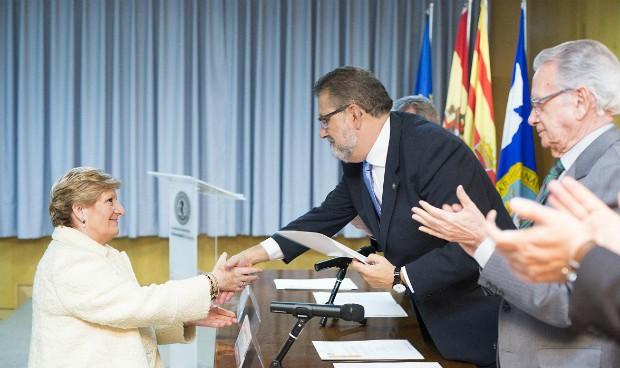 La Universidad de Zaragoza premia la labor de Concepción Ferrer