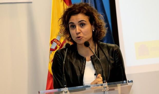La versión más integradora de Montserrat marca su primer acto como ministra