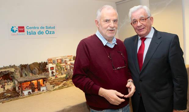 La visita sanitaria más navideña de Sánchez Martos