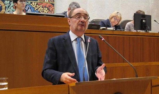 Lambán anuncia un plan de vacunación para adultos y radioterapia en Teruel