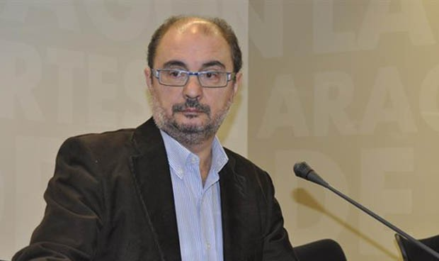 Lambán respalda a Celaya en su proyecto de RRHH para los hospitales rurales