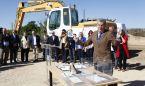 Lambán y Celaya ponen la primera piedra del nuevo Hospital de Alcañiz