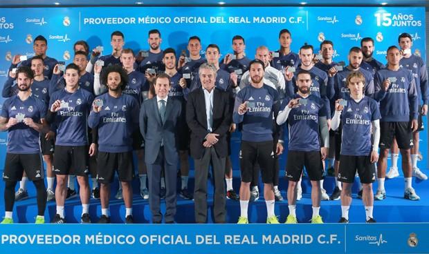 ¿Nuevo presidente sanitario en el Real Madrid?