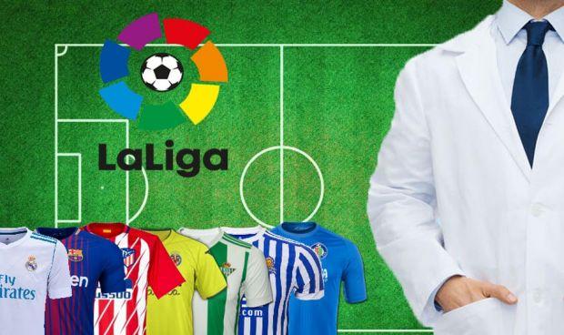 ¿Quién cuida de la salud de las estrellas de la Liga Santander?