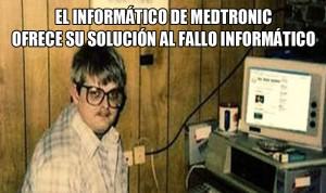 'Soluciones Medtronic' a fallos de software