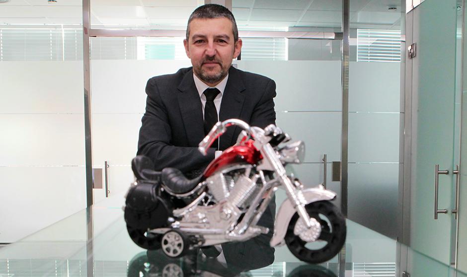 """""""Soy un dominguero en moto, no un motero"""""""