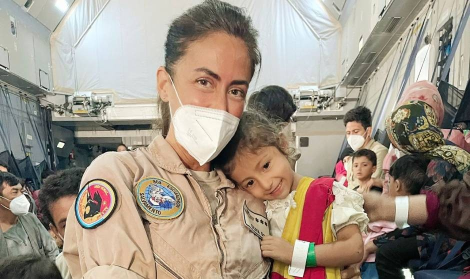 """Capitán Oliva, enfermera en Afganistán: """"La vocación tiene que ser militar"""""""