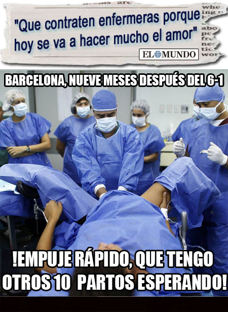 El Barça remonta hasta el empleo en Enfermería