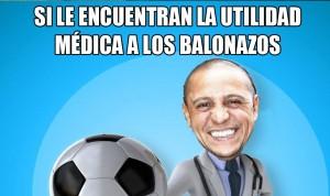 El médico más futbolero