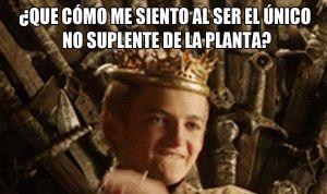 El rey de la planta