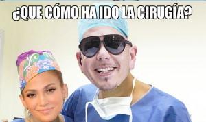 En el quirófano...¡dale mambo!