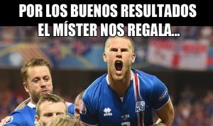 En la selección de Islandia, la sonrisa la pone el entrenador