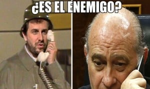 Fernández Díaz y la sanidad catalana, en 'versión Gila'