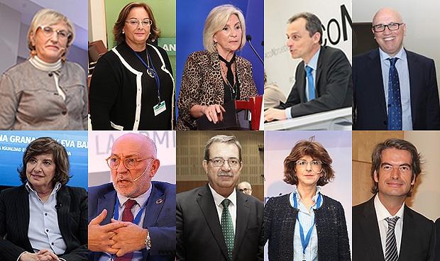 Los 10 protagonistas de la política y la gestión sanitaria en 2019